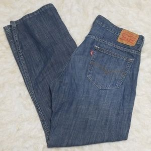Sz 36x34 Levi's 569 Cotton Denim Jeans